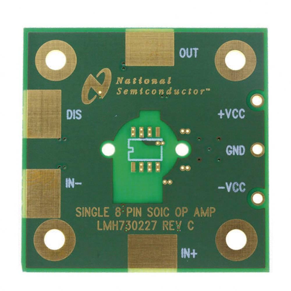 Plošča za tiskano vezje (neopremljena) Texas Instruments LMH730227/NOPB