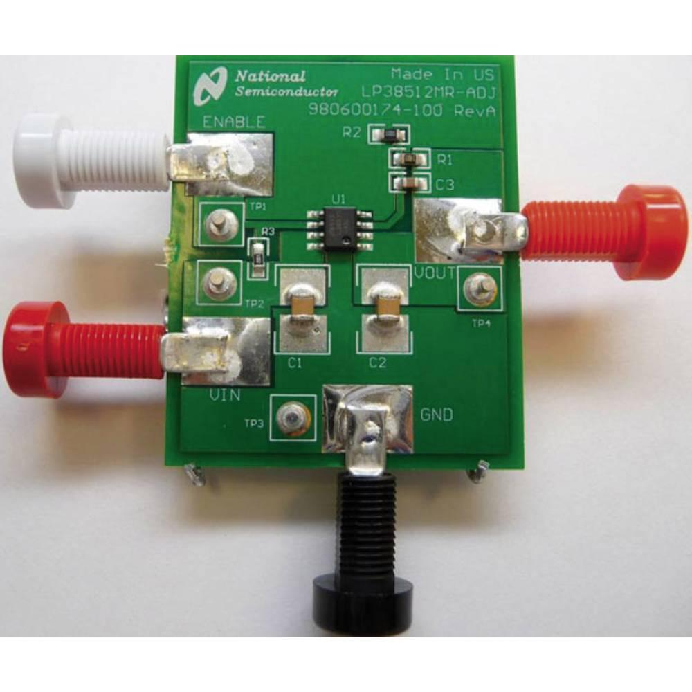 Razvojna plošča Texas Instruments LP38512MR-ADJEV/NOPB