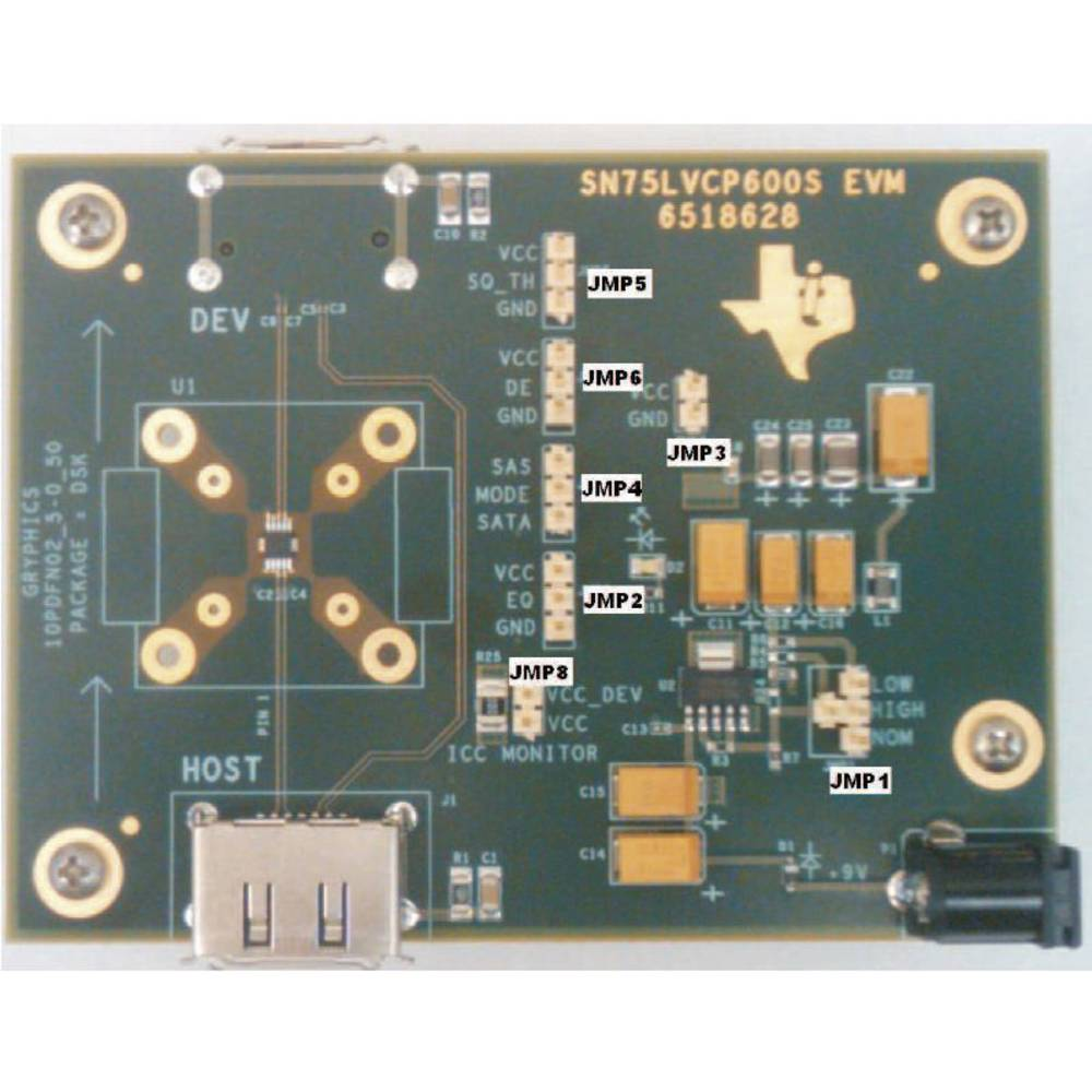Razvojna plošča Texas Instruments SN75LVCP600SEVM