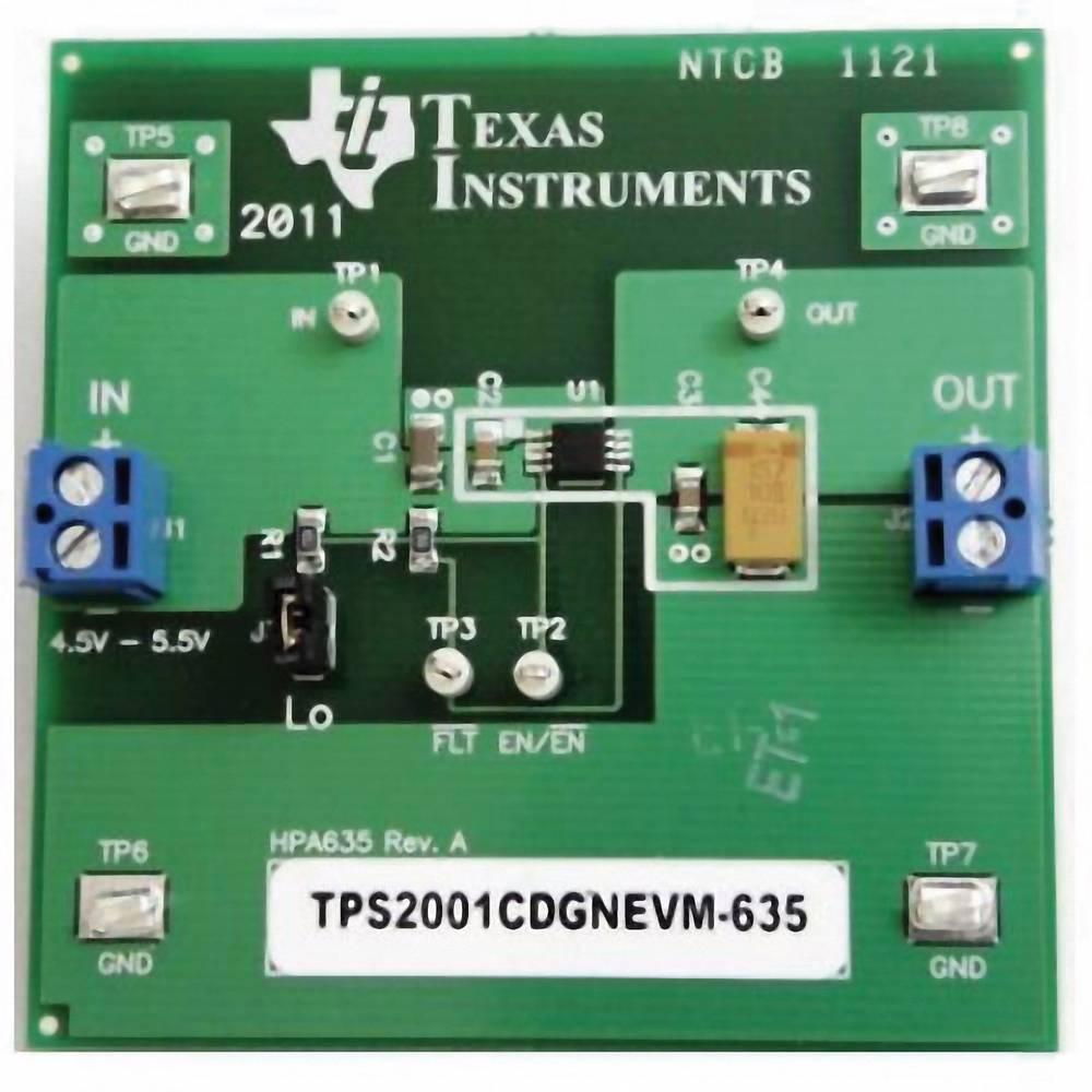 Razvojna plošča Texas Instruments TPS2001CDGNEVM-635