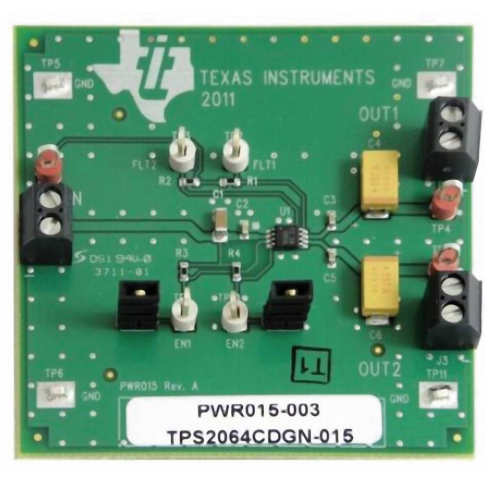 Razvojna plošča Texas Instruments TPS2064CDGNEVM-015