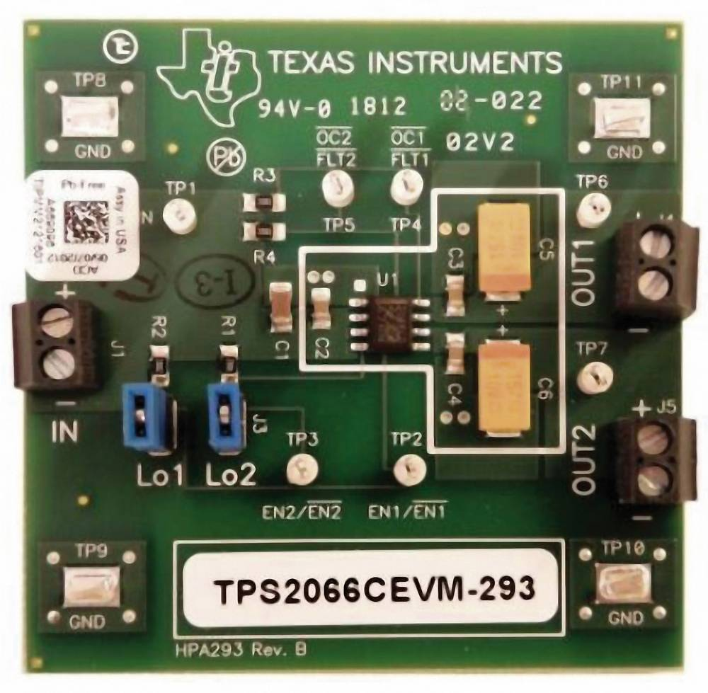 Razvojna plošča Texas Instruments TPS2066CEVM-293