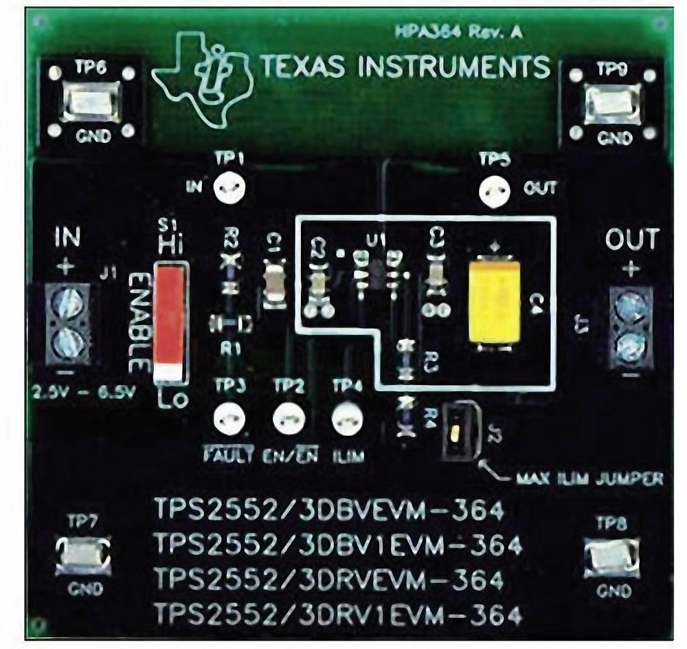 Razvojna plošča Texas Instruments TPS2552DBV1EVM-364