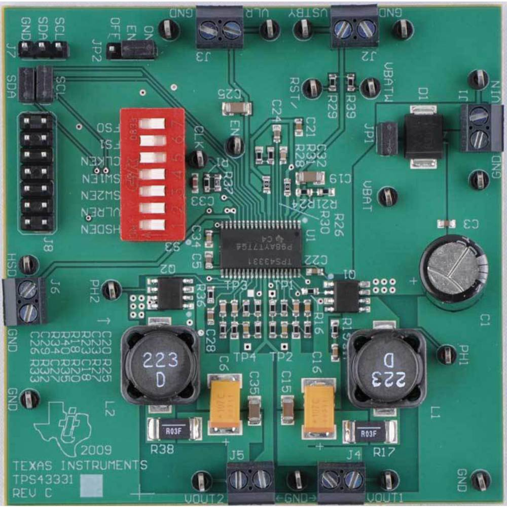 Razvojna plošča Texas Instruments TPS43331EVM