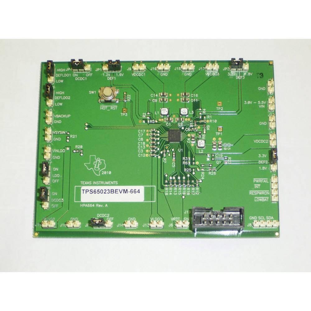 Razvojna plošča Texas Instruments TPS65023BEVM-664