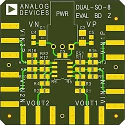 Tiskana pločica (neopremljena) Analog Devices AD8017AR-EBZ