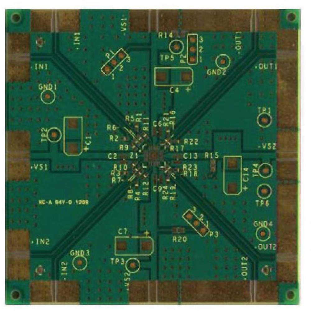 Tiskana pločica (neopremljena) Analog Devices ADA4950-2YCP-EBZ