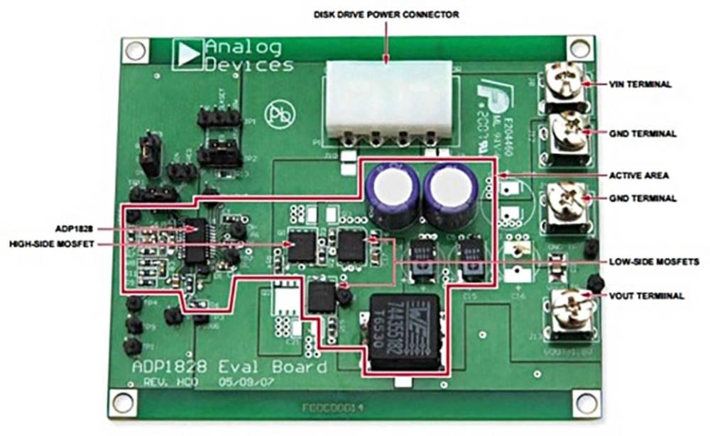 Razvojna ploča Analog Devices ADP1828HC-EVALZ