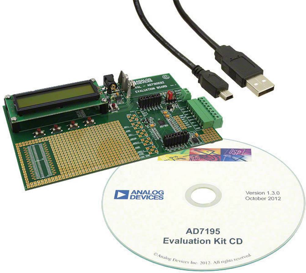 Razvojna ploča Analog Devices EVAL-AD7195EBZ