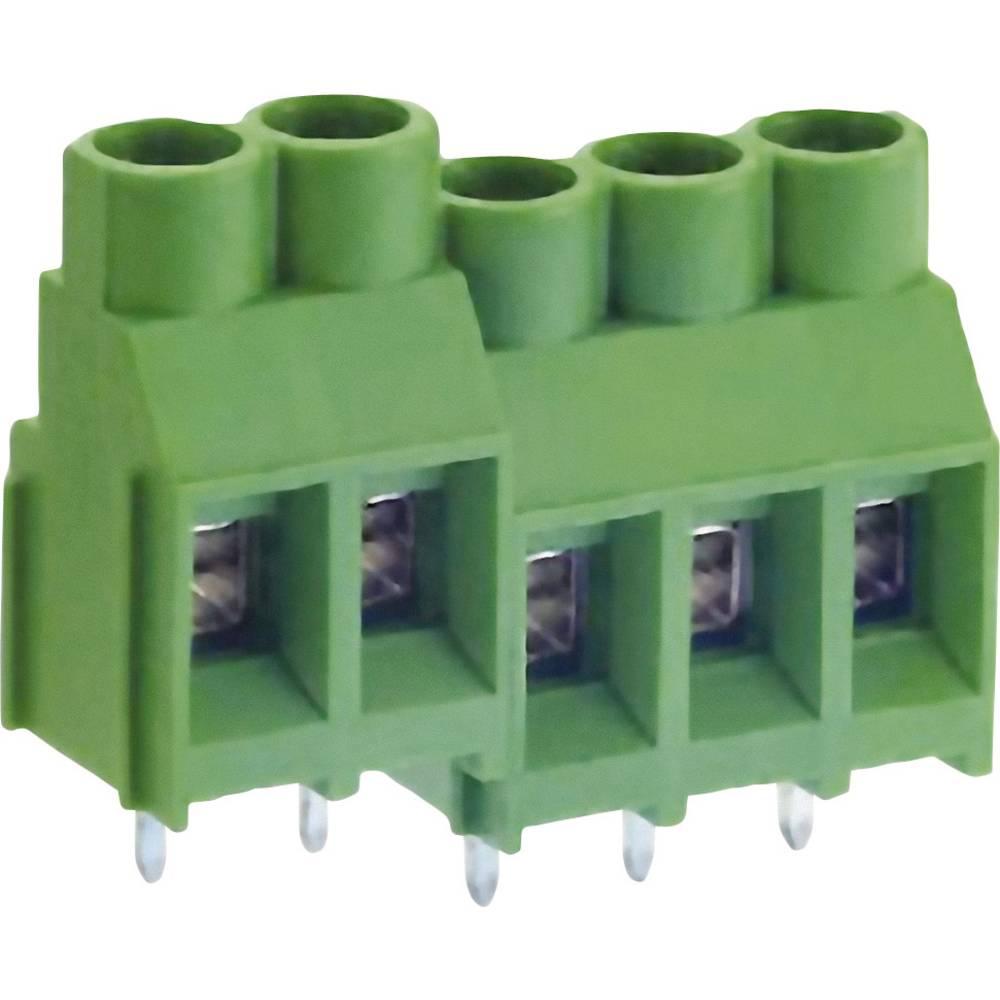 Skrueklemmeblok DECA MB912-750M02 5.26 mm² Poltal 2 Grøn 1 stk