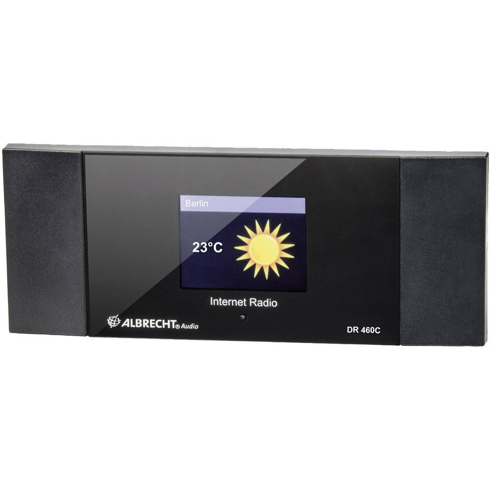 Albrecht DR 460 C , Internet radio-Adapter, prilagodnik sa DLNA, crni 27462