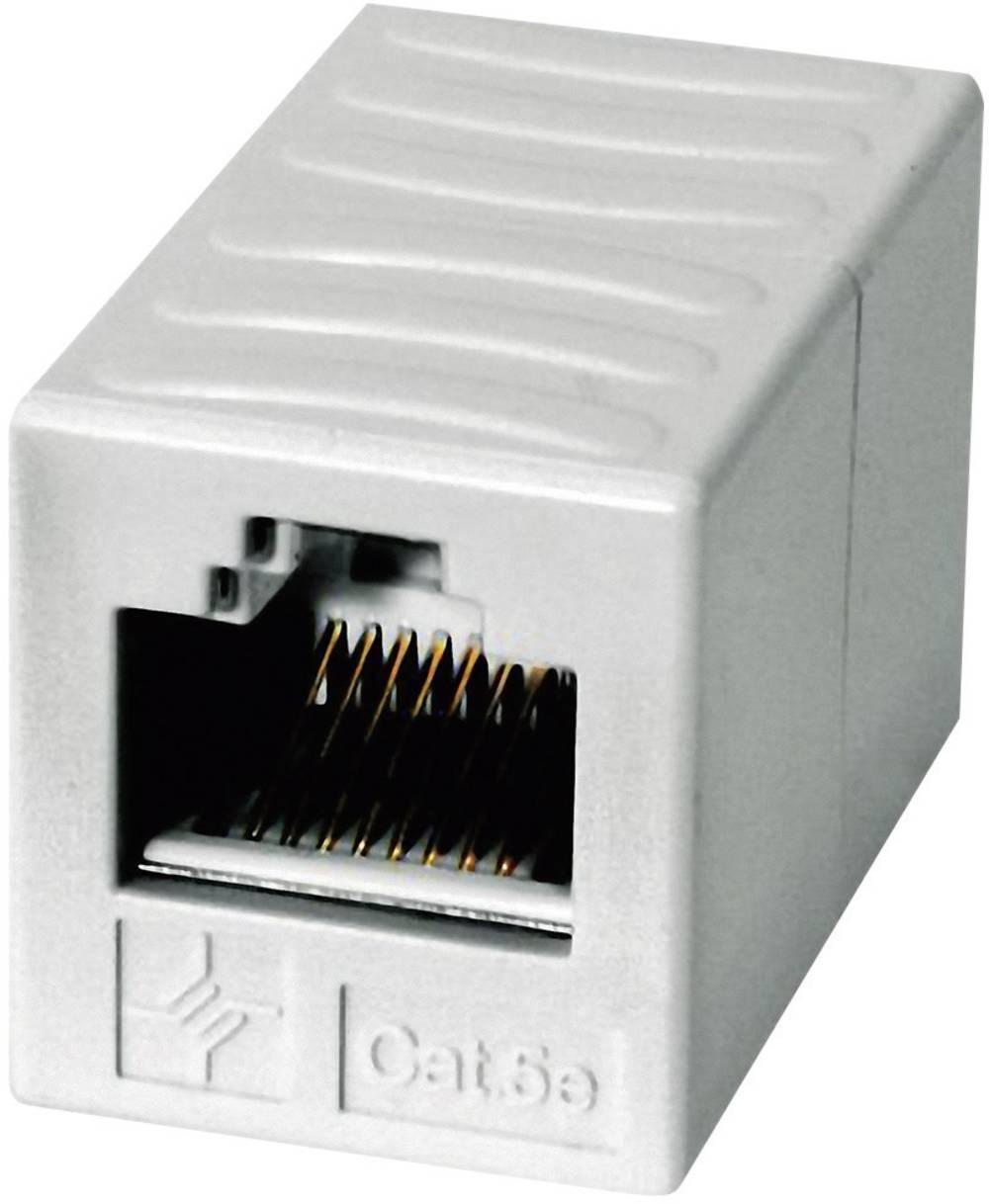 RJ45 omrežni adapter CAT 6 [1x RJ45 vtič - 1x RJ-45 vtič] 0m Alpine Bela Telegärtner J00029A0062