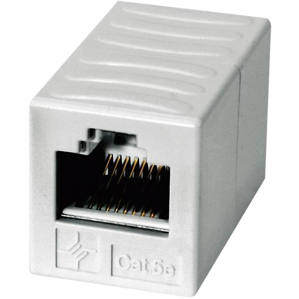 RJ45 strujni adapter CAT 6 [1x RJ45 utikač - 1x RJ45 utikač] 0 m Telegärtner bijeli