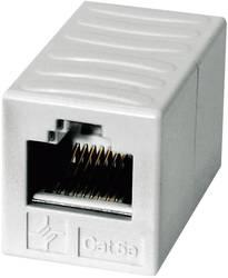 RJ45 Netværk Adapter Telegärtner CAT 6 [1x RJ45-tilslutning - 1x RJ45-tilslutning] 0 m Alpinhvid