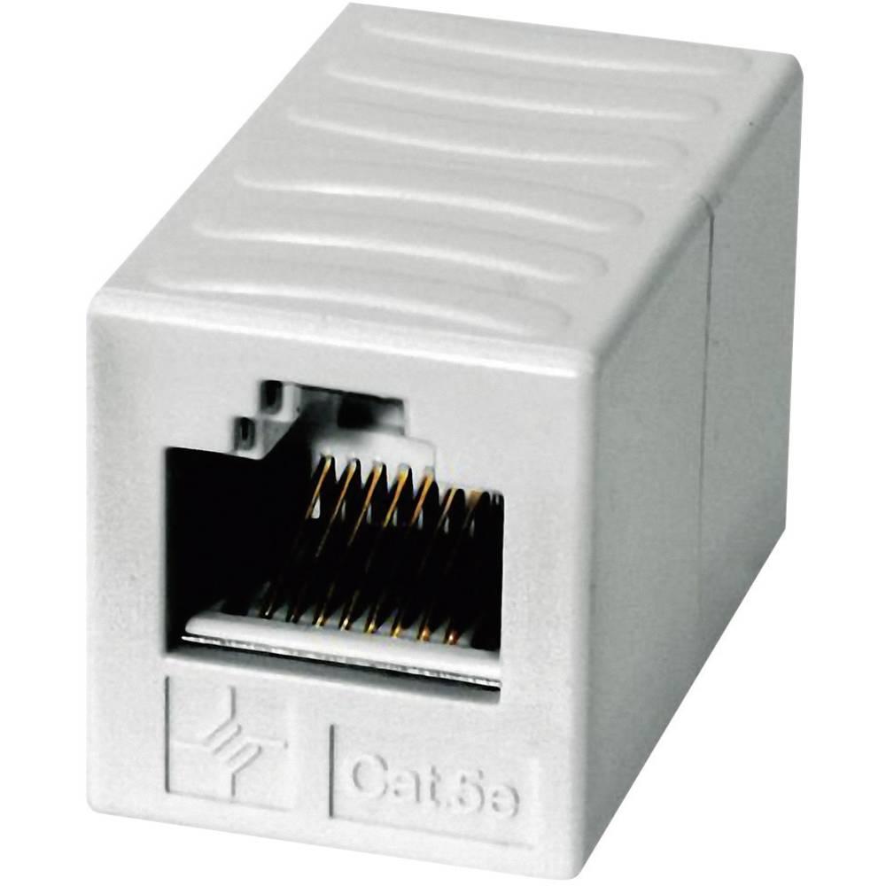 RJ45 strujni adapter CAT 5e [1x RJ45 utikač - 1x RJ45 utikač] 0 m Telegärtner bijeli