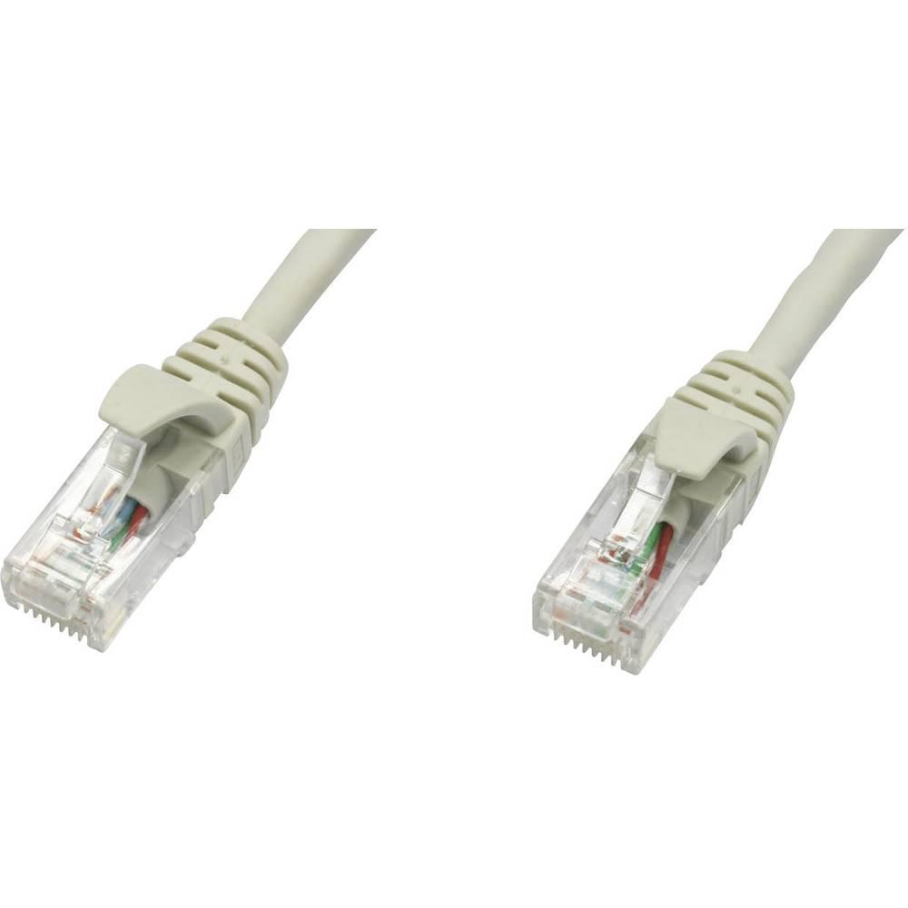 RJ45 omrežni kabel CAT 5e U/UTP [1x RJ45 konektor - 1x RJ45 konektor] 2 m siv,ognjevaren, L00001E0005 Telegärtner