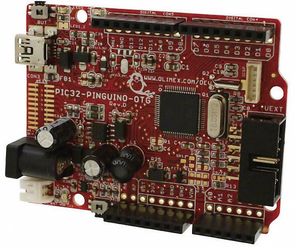 Razvojna plošča Olimex PIC32-PINGUINO-OTG