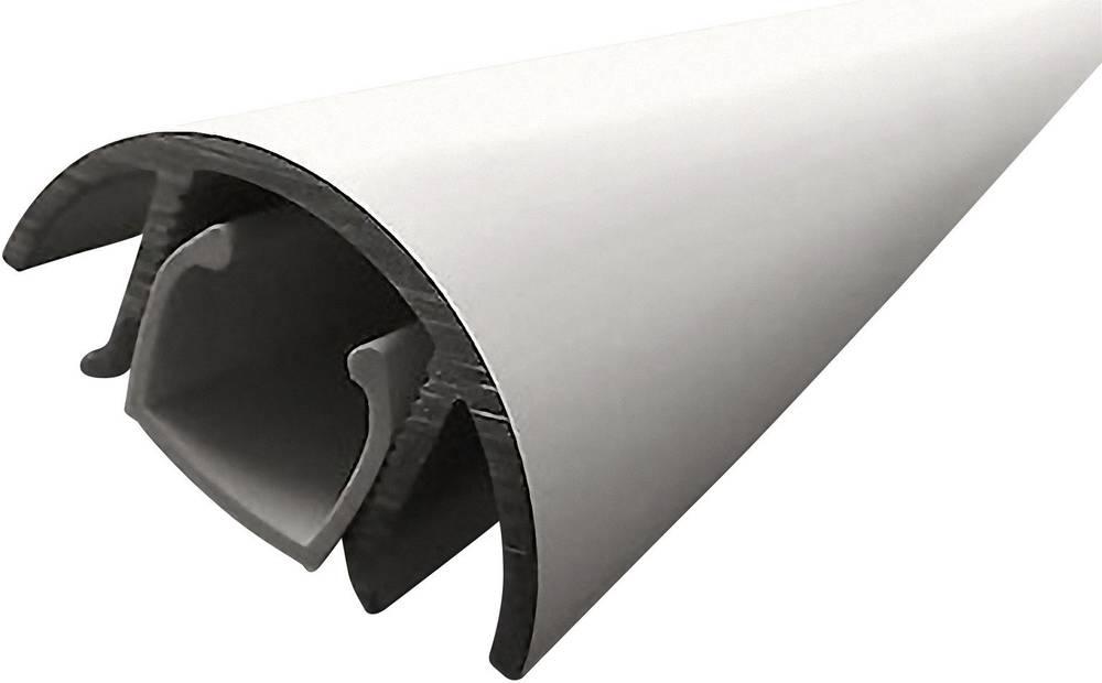 ALUNOVO Mini aluminijast kabelski kanal (D x Š x V) 800 x 30 x 15 mm srebrna (mat, eloksiran) Alunovo vsebina: 1 kos
