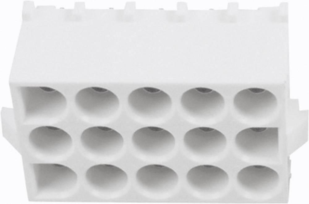 Stiftkabinet-printplade Universal-MATE-N-LOK Samlet antal poler 15 TE Connectivity 350714-1 1 stk