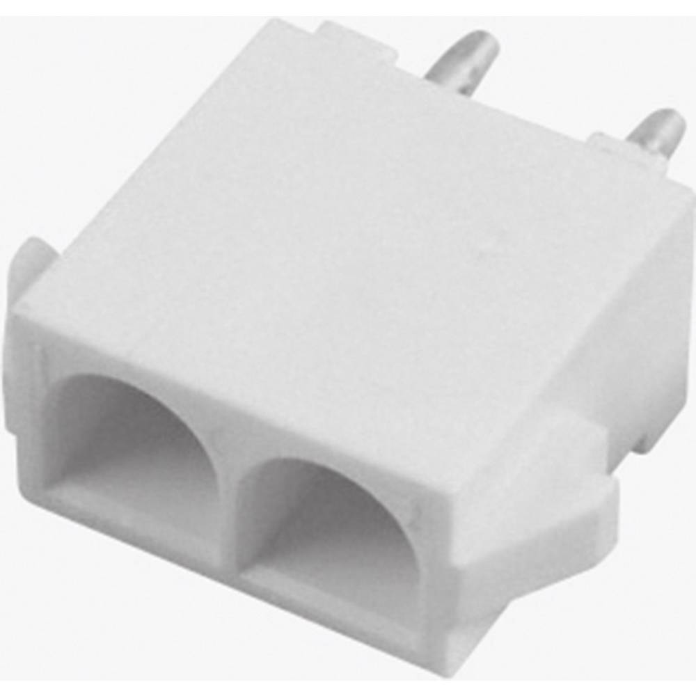 Tilslutningskabinet-printplade Universal-MATE-N-LOK Samlet antal poler 6 TE Connectivity 350762-4 1 stk