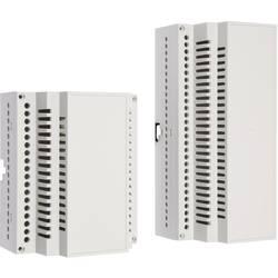 DIN-skinnekabinet MR6/AR FA RAL7035 ABS med ventilationsslids 106 x 90 x 55.8 ABS Lysegrå (RAL 7035) 1 stk