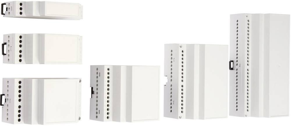 DIN-skinnekabinet MR6 / CB FA 7035 ABS 106 x 90 x 55.8 ABS Lysegrå (RAL 7035) 1 stk