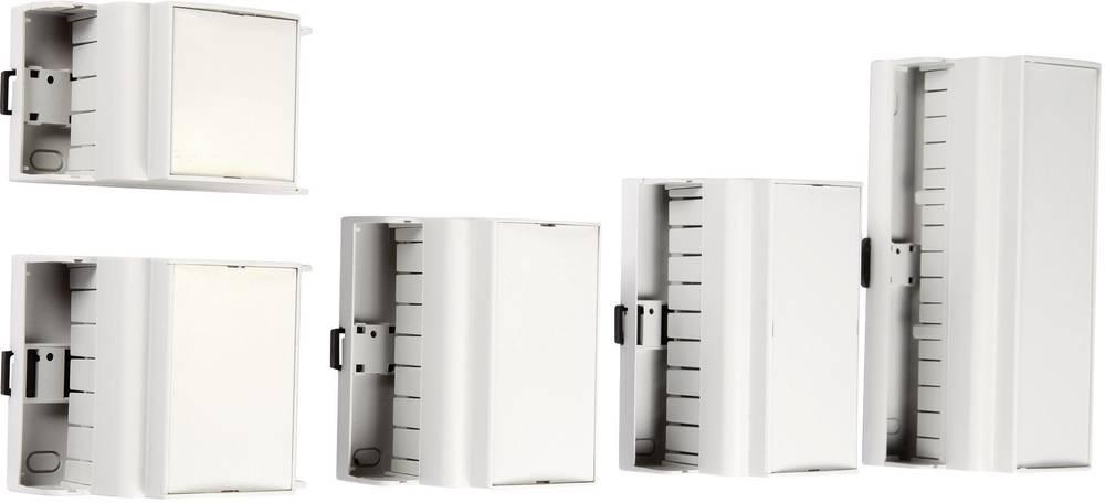 DIN-skinnekabinet MR6/K CR RAL7035 ABS 106 x 90 x 62 ABS Lysegrå (RAL 7035) 1 stk