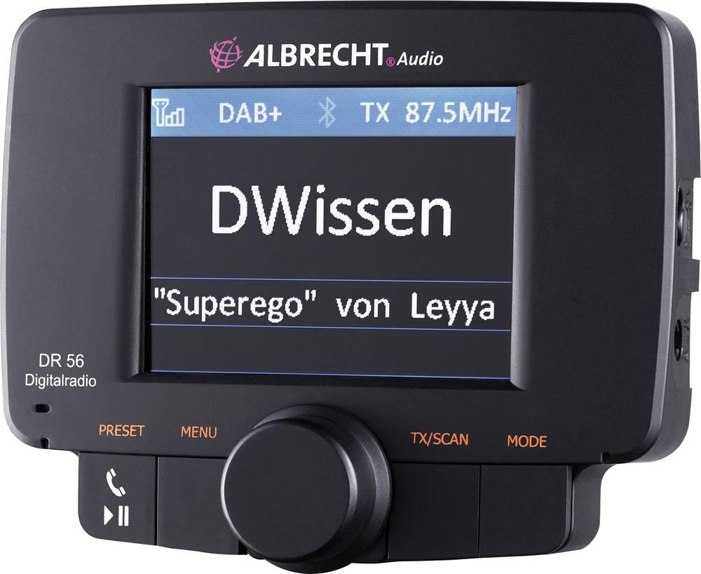 Adapterji za avtoradio Albrecht DR-56 DAB+ 27356