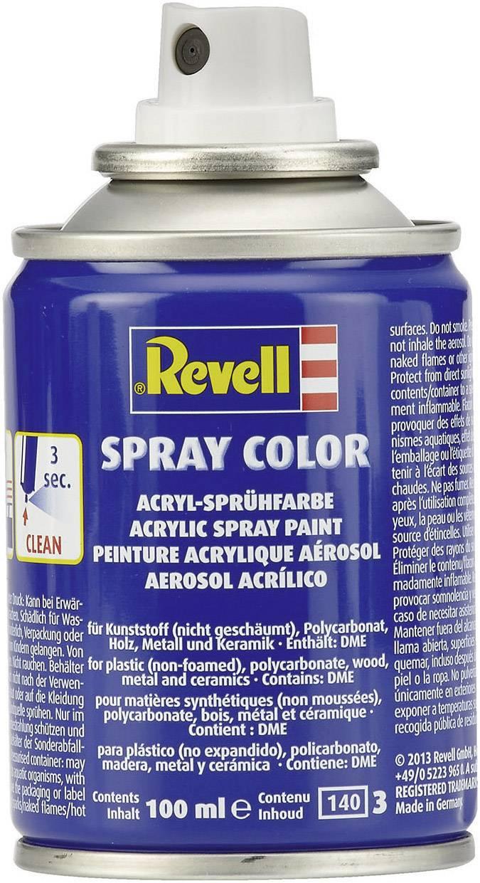 Acrylic paint Revell White (semi-gloss) 301 Spray can 100 ml