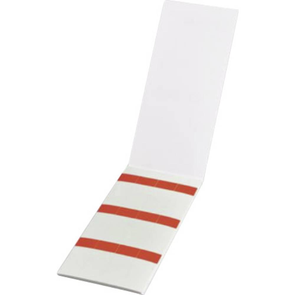 Etikete za označevanje kablov Helasign 19.05 x 25.40 mm označevalno polje: rdeče barve HellermannTyton 598-31402 HSMB-C3-1402-RD