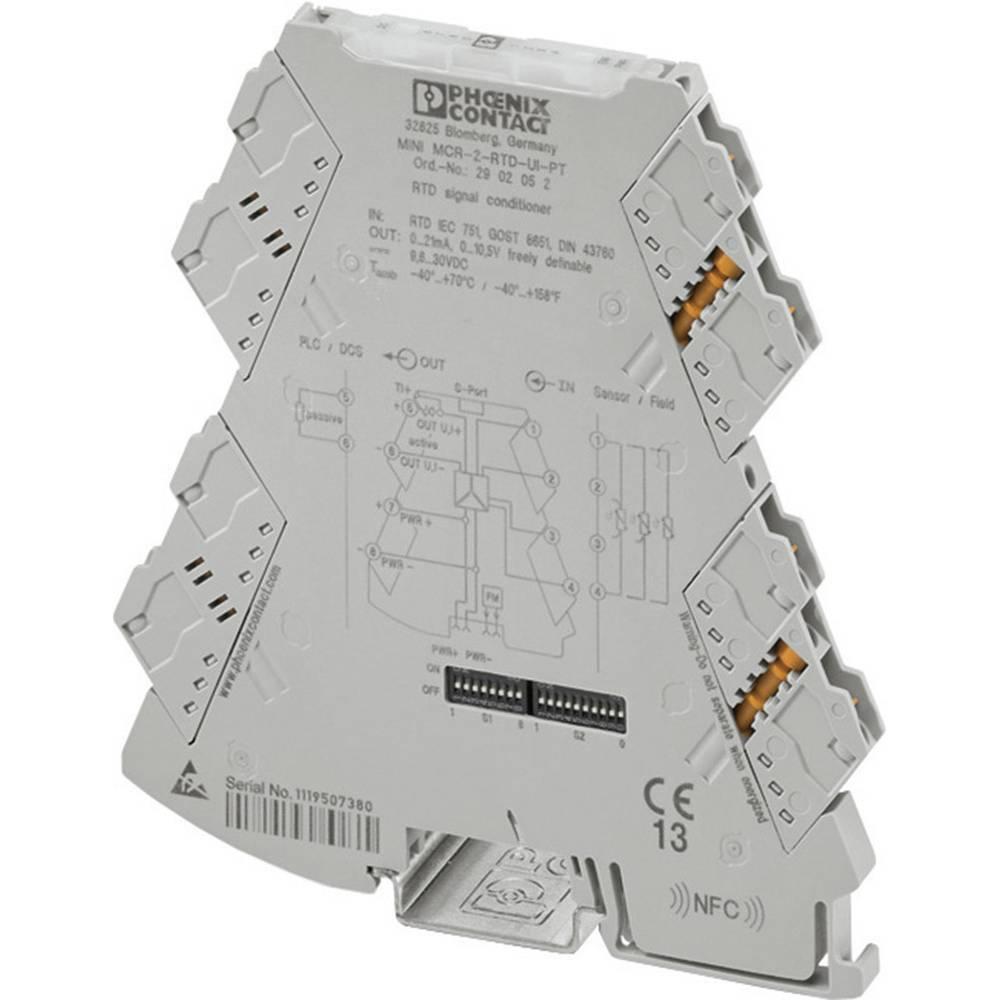 Phoenix Contact Mini Mcr 2 Rtd Ui Temperature Transducers 2902049 Mp3 Fm Transmitter Circuit Diagram Review Ebooks