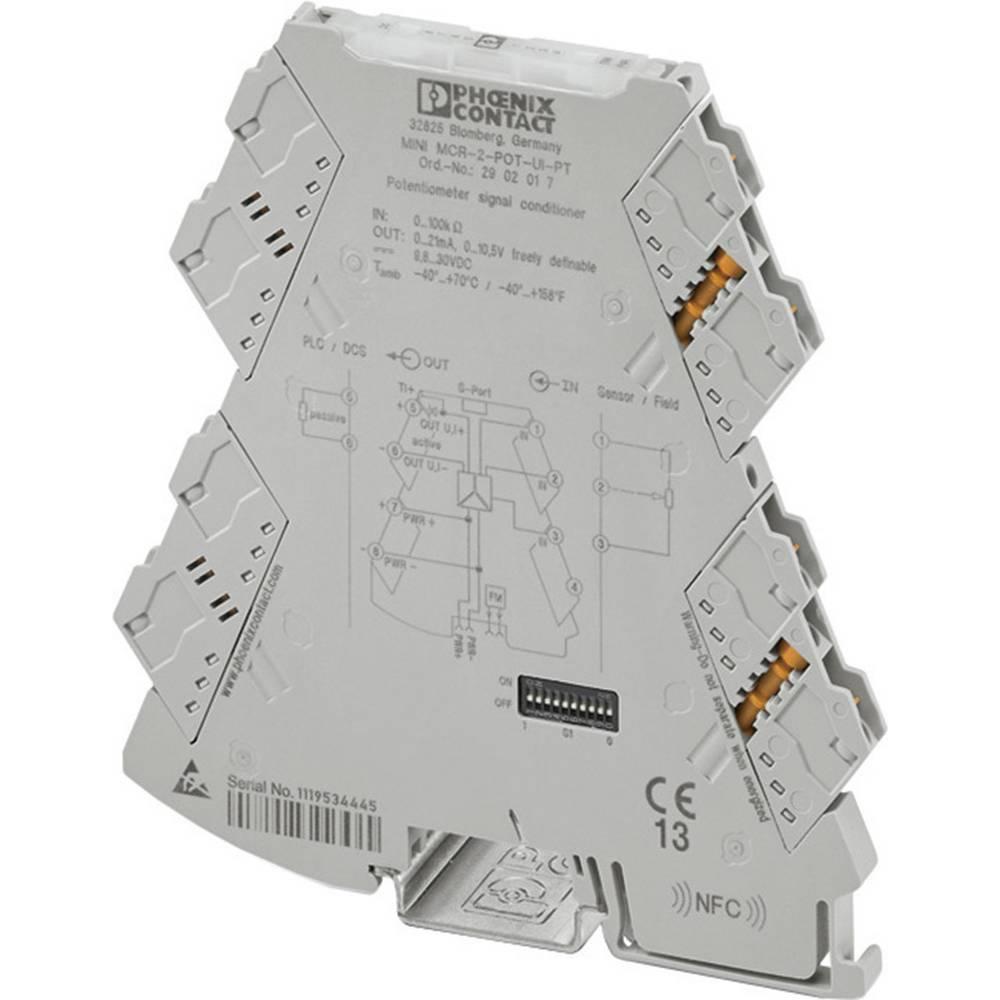 Nastavljiv pozicijski pretvornik Phoenix Contact MINI MCR-2-POT-UI kataloška številka 2902016 1 kos