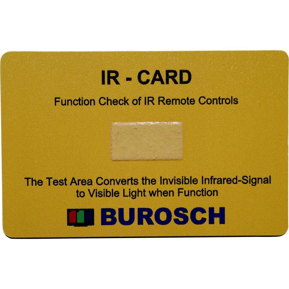 Infrardeči indikator/testna karta 980 nm Burosch IR-CARD
