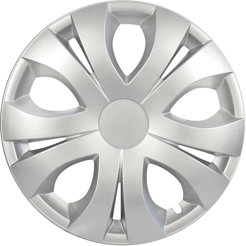 Okrasni pokrovi za platišča Top R15 srebrna 4 kosi cartrend