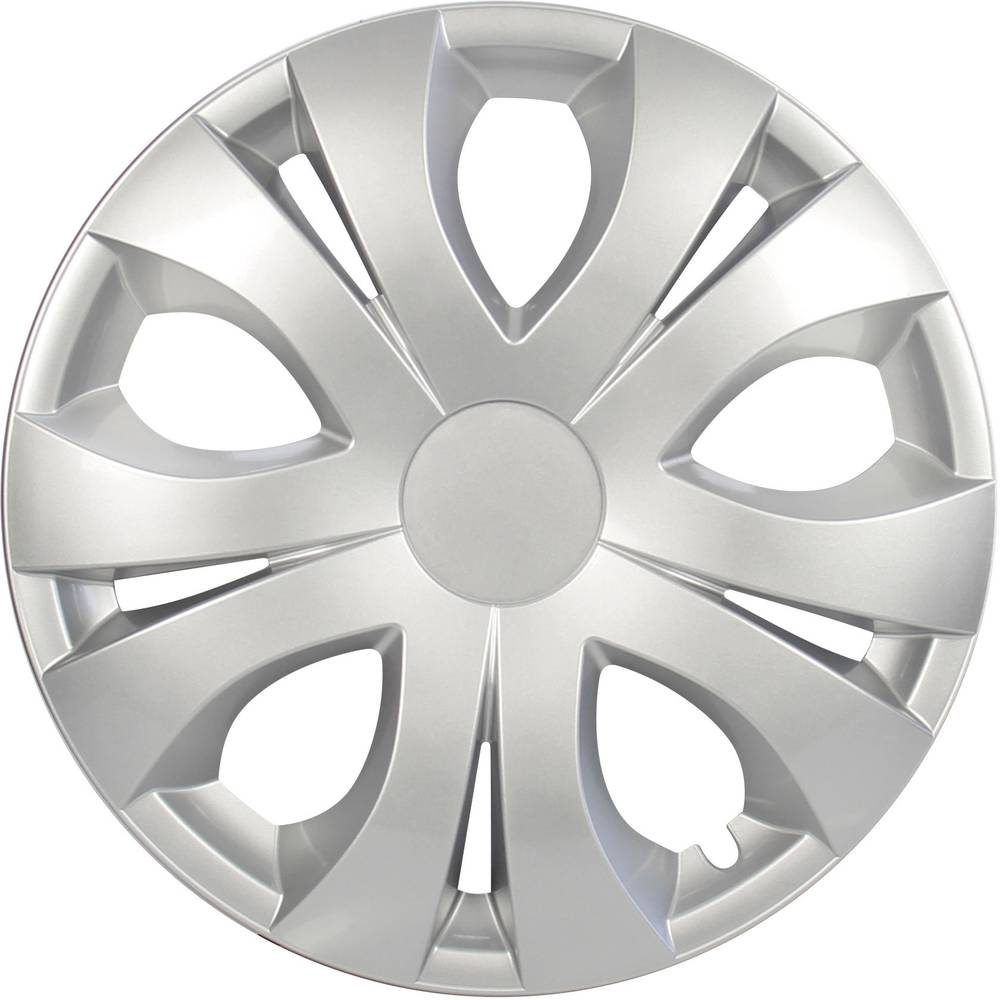Ratkape, ukrasni poklopci kotača Top R15 srebrne boje 4 komada cartrend