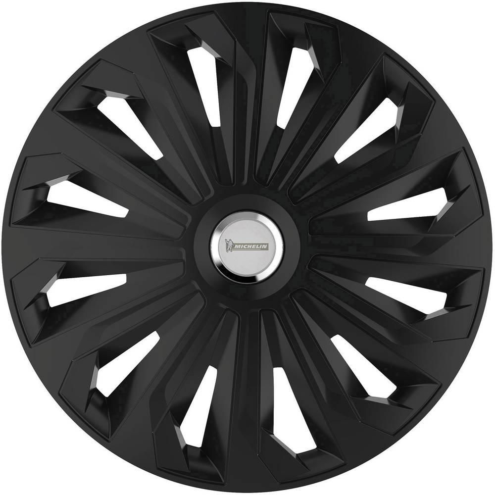 Okrasni pokrovi za platišča Fabienne R14 črna (mat) 4 kosi Michelin