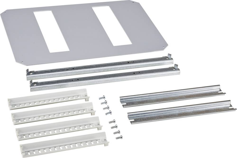 Monteringsramme Fibox ARCA 8120793 8120793 1-række Stål Grå (L x B) 300 mm x 400 mm 1 stk