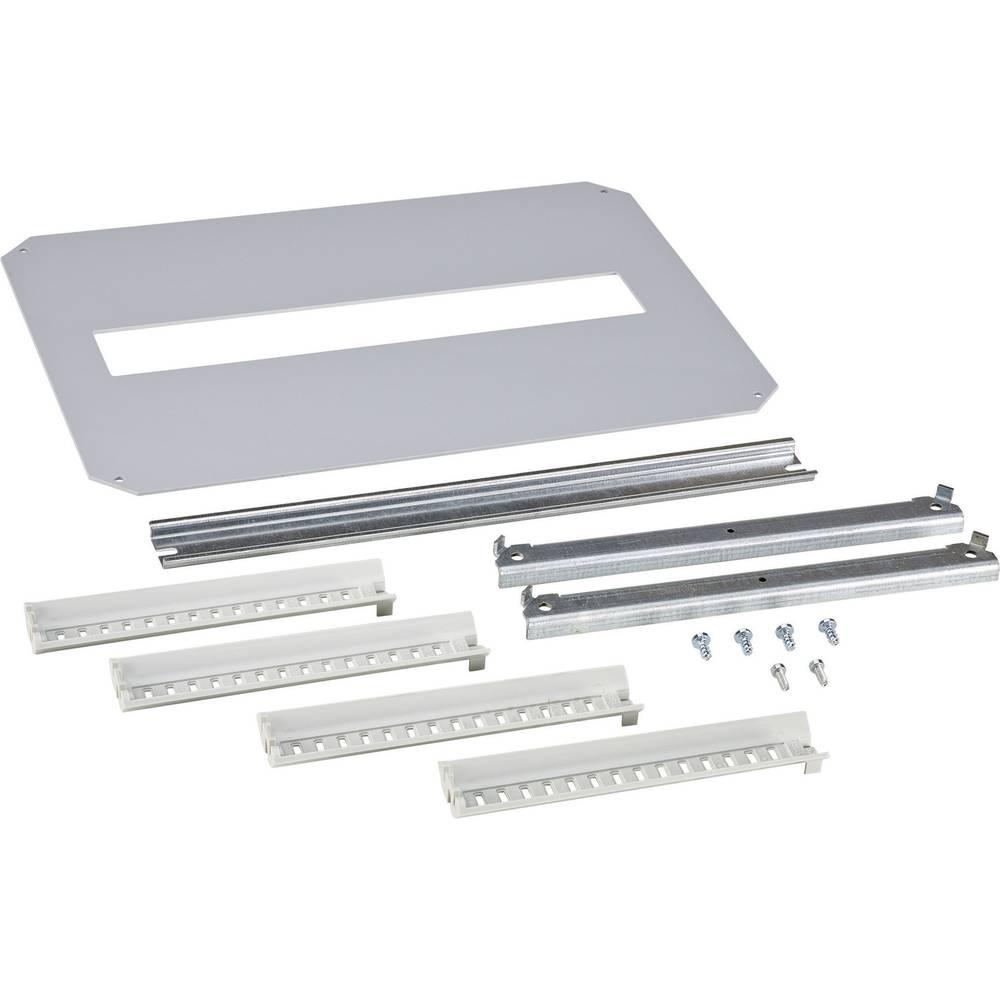 Monteringsramme Fibox ARCA 8120760 8120760 1-række Stål Grå (L x B) 300 mm x 200 mm 1 stk