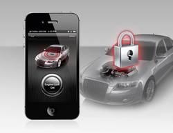 Avtomobilska alarmna naprava Smart Engine Lock za iPhone in Android, 12V