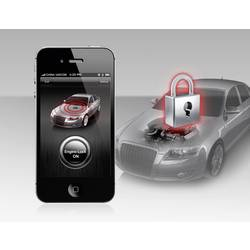 Bilalarm-system SteelMate Smart Engine Lock for iPhone & Android 12 V