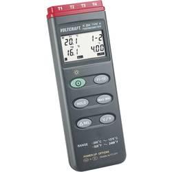 Temperatur-måleudstyr VOLTCRAFT K204 -200 til +1370 °C Sensortype K Kalibrering efter: Fabriksstandard