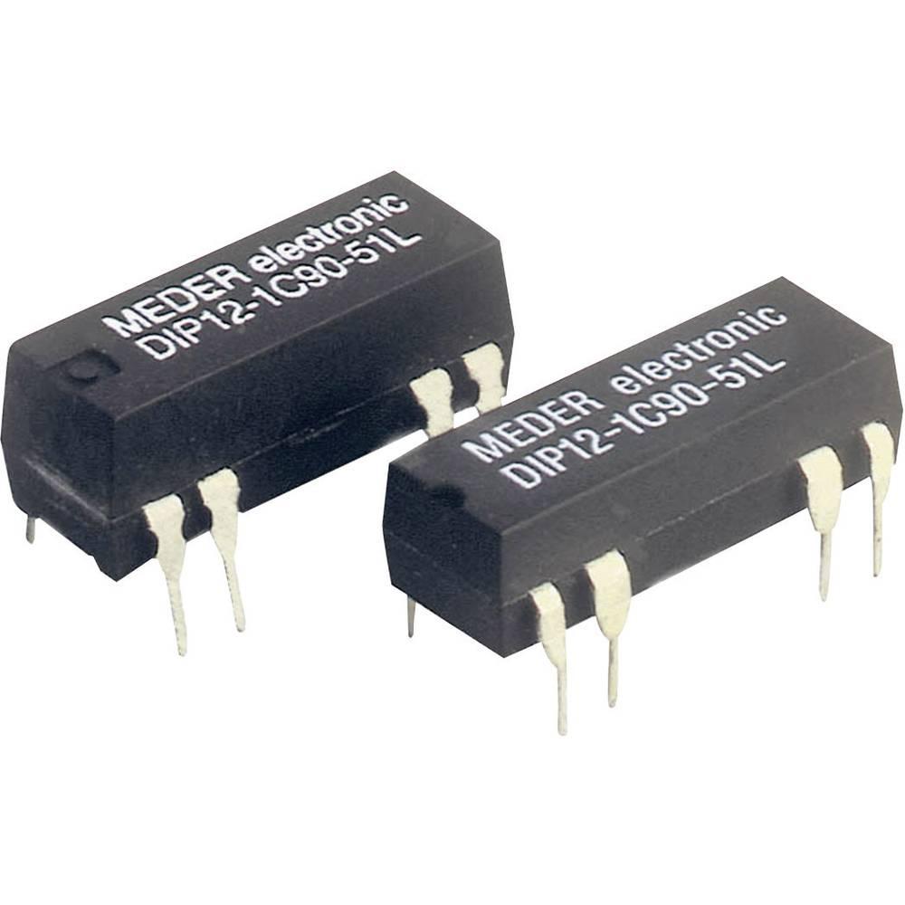 Reed-relæ 1 x skiftekontakt 5 V/DC 0.5 A 10 W DIP-8 StandexMeder Electronics DIP05-1C90-51D