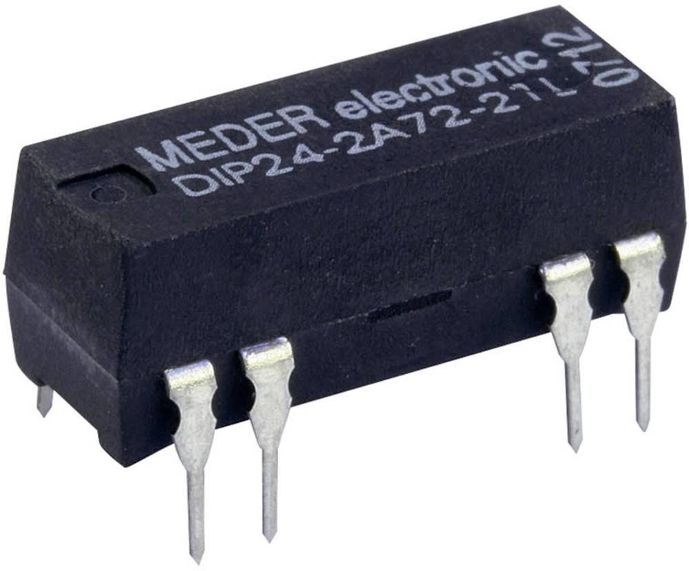 Reed-relæ 2 x sluttekontakt 12 V/DC 0.5 A 10 W DIP-8 StandexMeder Electronics DIP12-2A72-21D