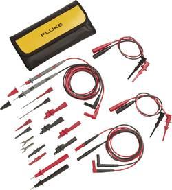 Säkerhets-mätledning-Set Fluke TL81A 1 m Svart, Röd