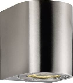 LED-utomhusväggbelysning Nordlux Canto 10 W 700 lm Varmvit Rostfritt stål