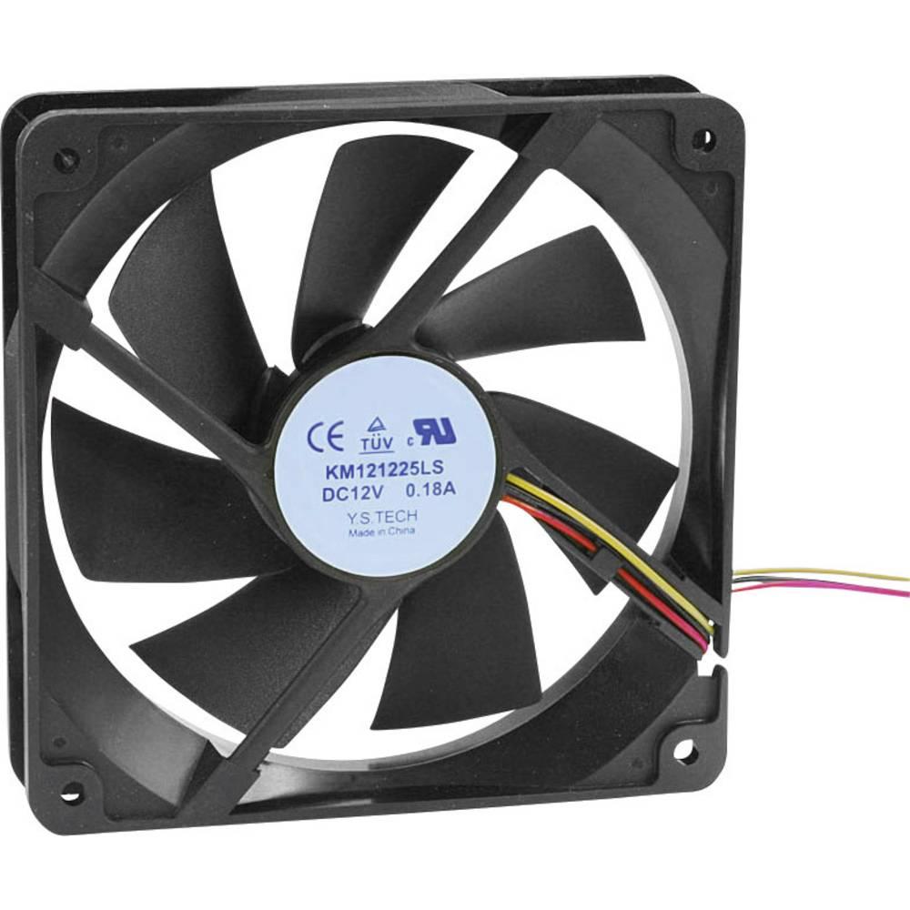 Aksialni ventilator 12 V/DC 65.22 m/h (D x Š x V) 120 x 120 x 25 mm KM121225LS(1A1)