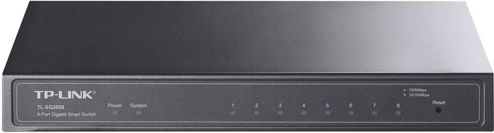 RJ45 omrežno stikalo TP-LINK TL-SG2008 8 vrat 1000 Mbit/s