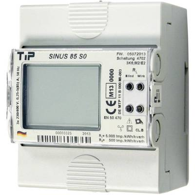 TIP SINUS 85 S0 Electricity meter (3-phase) Digital MID-approved: Yes