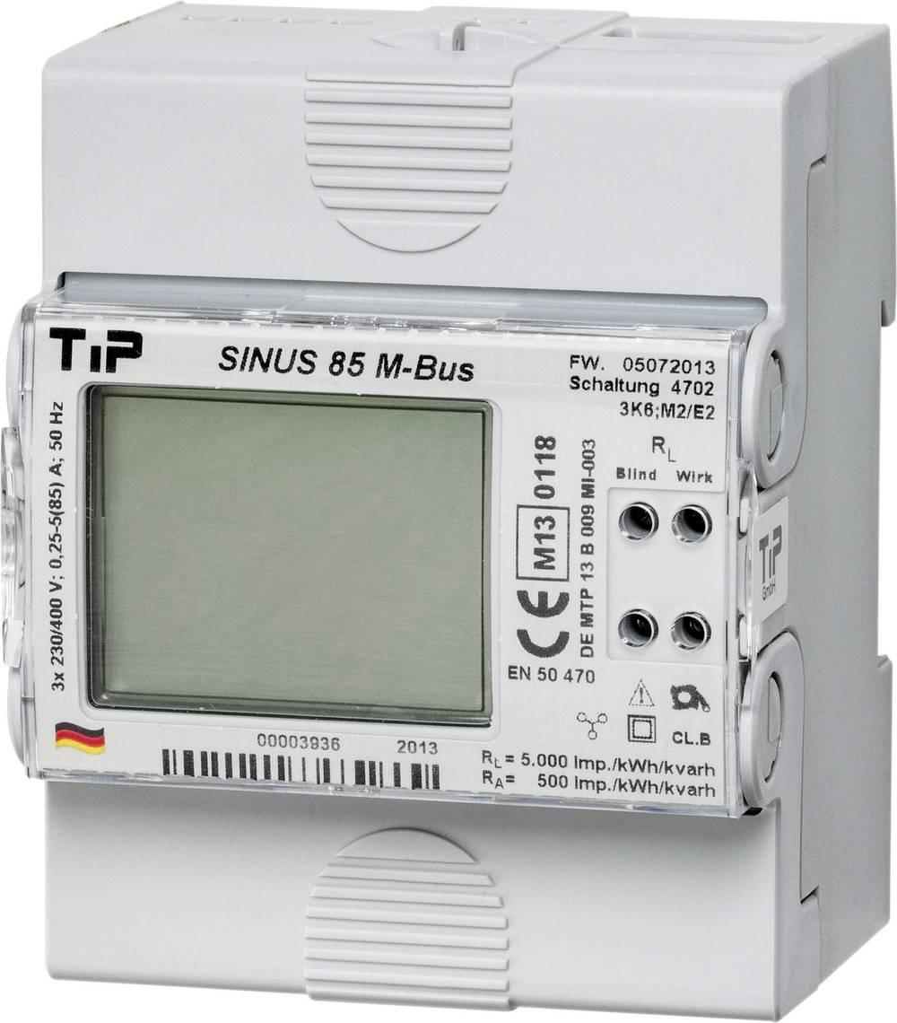 Trifazni digitalni števec MID odobritev: Da TIP SINUS 85 M-BUS