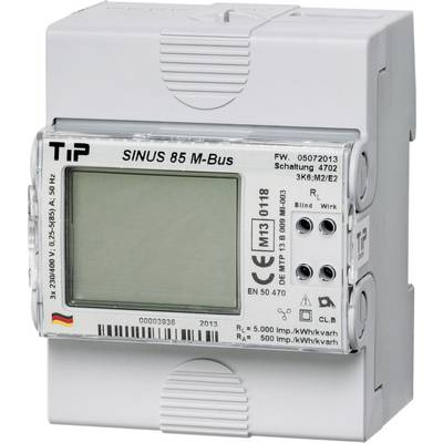 TIP SINUS 85 M-BUS Electricity meter (3-phase) Digital MID-approved: Yes